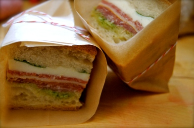 Wrapped Italian Sandwich