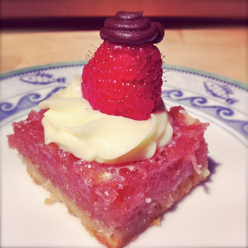 Raspberry Lemon Bar