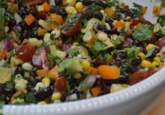 Summertime Black Bean Salad